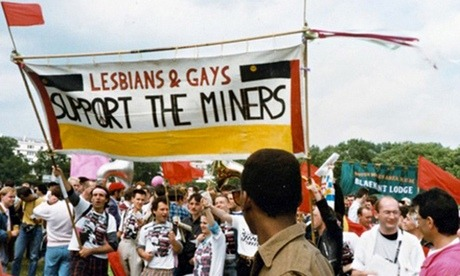 Lesbians and Gay Men Support the Miners в реальной жизни
